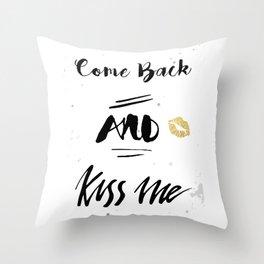 Society6 Back&white Throw Pillow