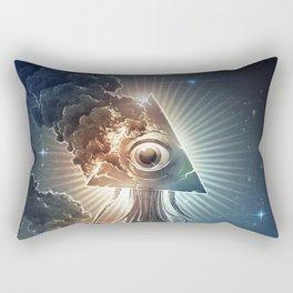 War Of The Worlds II. Rectangular Pillow