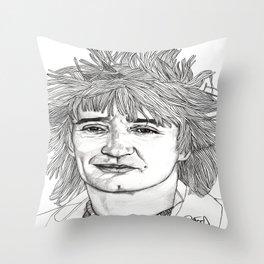Rod the Mod Throw Pillow
