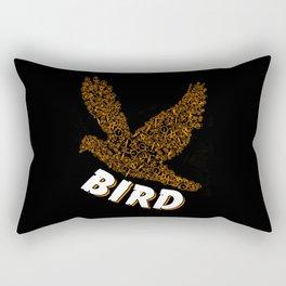Bird From Many Bicycles Bike Animal Rectangular Pillow