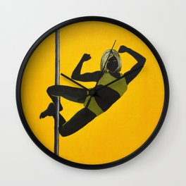 The Boxer | Pole Dancer Series Wall Clock