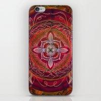 chakra iPhone & iPod Skins featuring Root Chakra by brenda erickson
