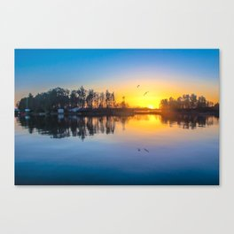 Soundtrack of silence Canvas Print