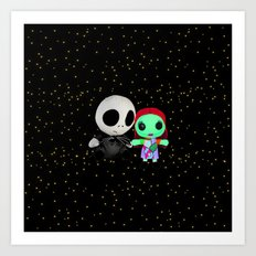 Halloween Babies | Jack | Sally | Christmas | Nightmare Art Print