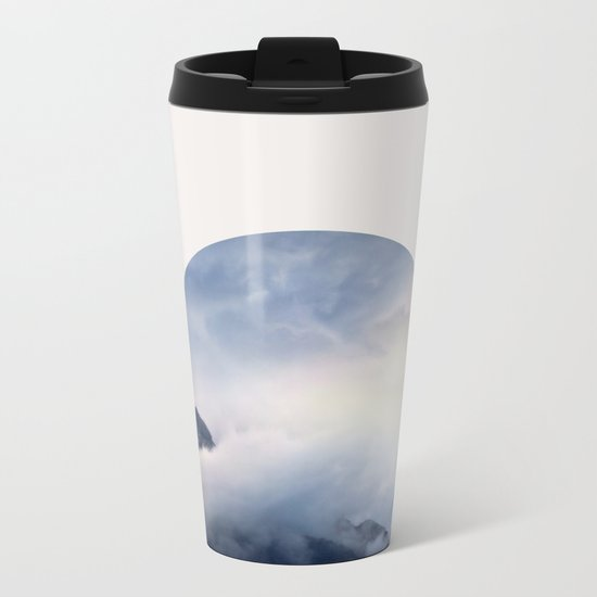 Daydreaming.  Metal Travel Mug