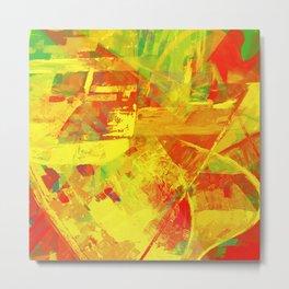 Bring Back Summer - Modern Abstract Metal Print