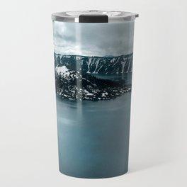 Mountain Lake View Travel Mug