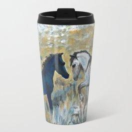 Nokota Horses. Travel Mug