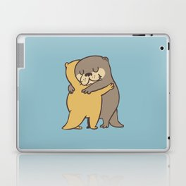 Otter Hugs Laptop & iPad Skin