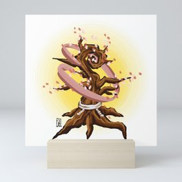 Sakura Tree Blooming Mini Art Print