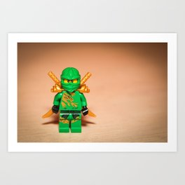 Ninjago Lloyd Art Print