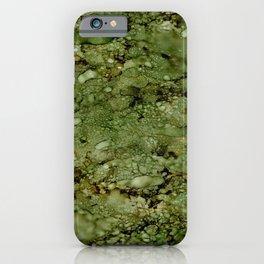 Green Camo iPhone Case