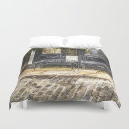 Pub Resting Place Art Duvet Cover