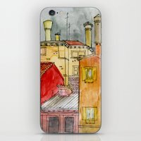 italian iPhone & iPod Skins featuring Italian Street by Bunny Noir