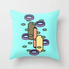 Hot dog Plain Throw Pillow