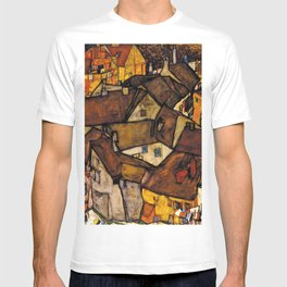 "Egon Schiele ""Krumau - Crescent of Houses (The small City V)"" T-shirt"