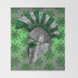 Spartan Helmet Throw Blanket