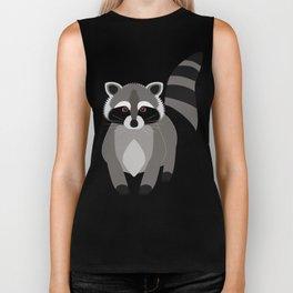 Raccoon Rascal Biker Tank