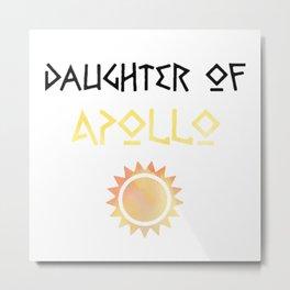daughter of apollo Metal Print