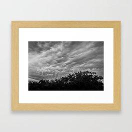 Afternoon Storm Framed Art Print