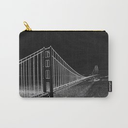 Golden Gate Abstract Carry-All Pouch