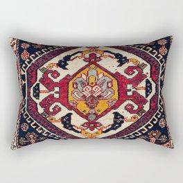 Qashqa'i Fars Persian Antique Tribal Bag Rectangular Pillow