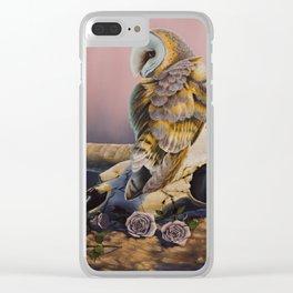 """OCTOBER RAIN"" Clear iPhone Case"