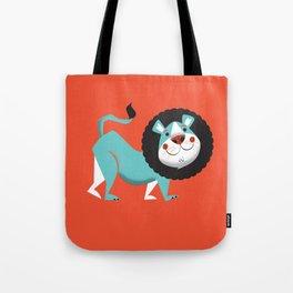 Evan the lion Tote Bag