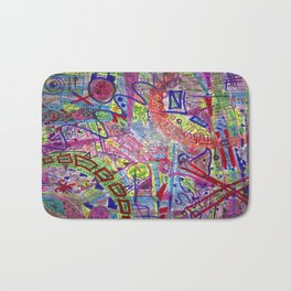 Brain Dump Bath Mat