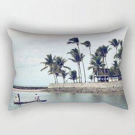 Sail   Arraial d'ajuda   Brazil Rectangular Pillow
