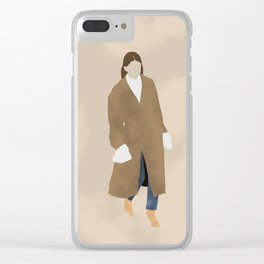 Street Style #5 Clear iPhone Case
