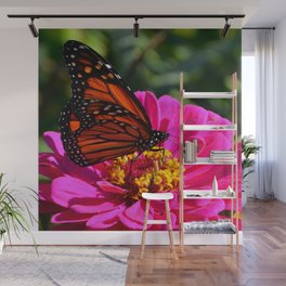 Monarch Pink by Teresa Thompson Wall Mural