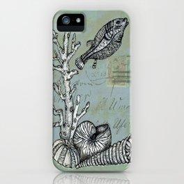 Vintage Shells iPhone Case
