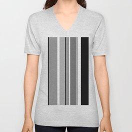 Stripes, the right way Unisex V-Neck