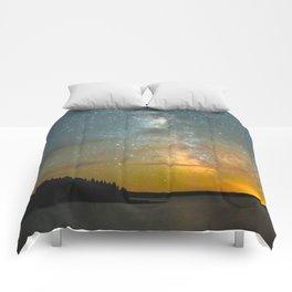 Milky Way Galaxy in Manitoba Comforters