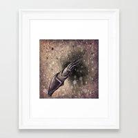 squid Framed Art Prints featuring Squid by Werk of Art