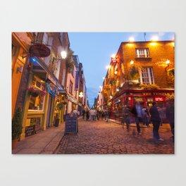 Temple Bar, Dublin, Ireland Canvas Print