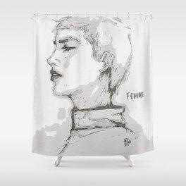 Fatal Shower Curtain