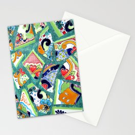 All the Colours of the Rainbow Stationery Cards