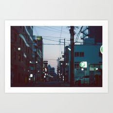 Good Morning Kyoto. Art Print