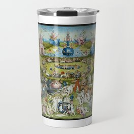 The Garden of Earthly Delights by Hieronymus Bosch (1490-1510) Travel Mug
