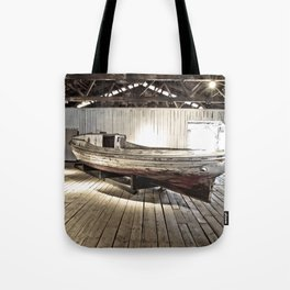 Chesapeake Workboat Tote Bag