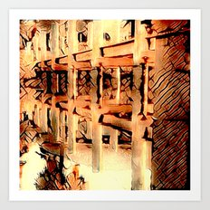 Reflections in Reverse Art Print