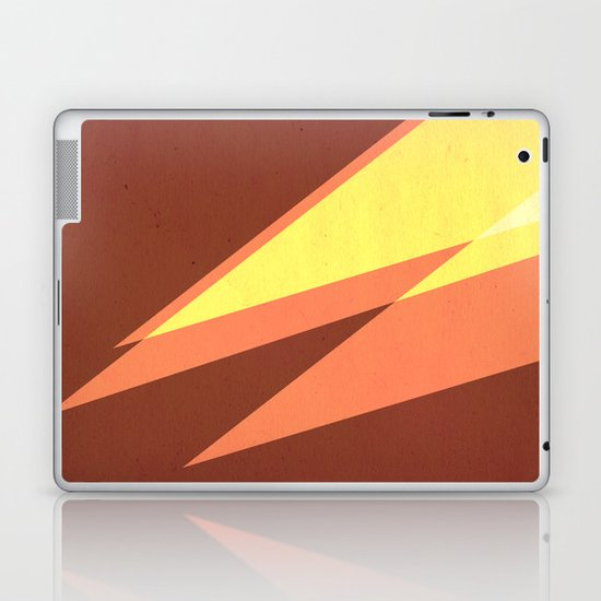 Vintage Space Poster Series II - Discover Space - It's a Blast! Laptop & iPad Skin