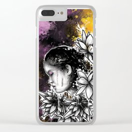 Above The Turmoil Clear iPhone Case