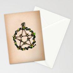 PENTAGRAM GARLAND Stationery Cards
