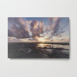 Sunrise Over the Beach 2 Metal Print