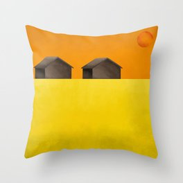 Simple housing - Love me two times Throw Pillow