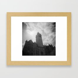 Post Park Framed Art Print