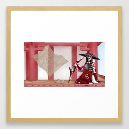 Wistful Wife Framed Art Print